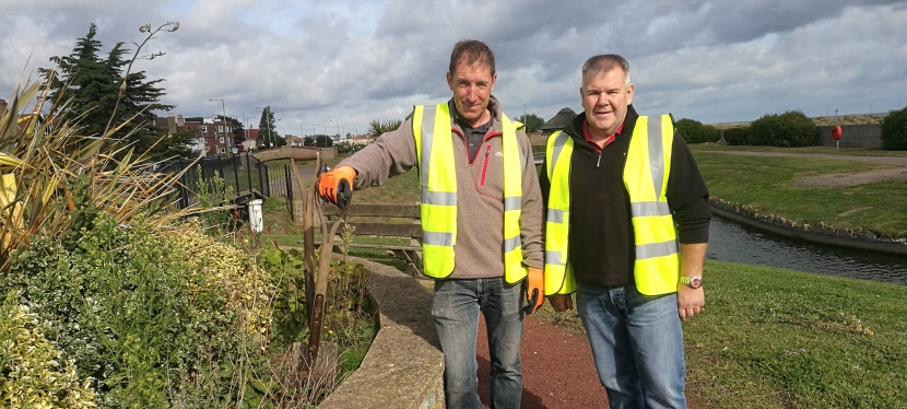 Meet the Waterways Gardeners and Get Involved in Restoration